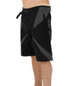 JETPILOT GOMOTO MENS BOARDSHORT BLACK/CHARCOAL