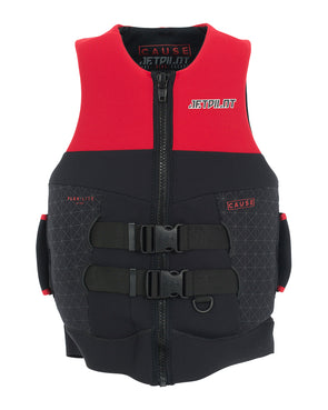 JETPILOT CAUSE MENS S-GRIP NEO VEST RED LEVEL 50