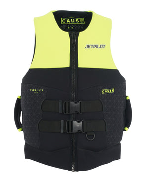 JETPILOT CAUSE MENS S-GRIP NEO VEST YELLOW LEVEL 50