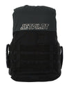JETPILOT STRIKE MENS FE NYLON VEST BLACK/CHARCOAL