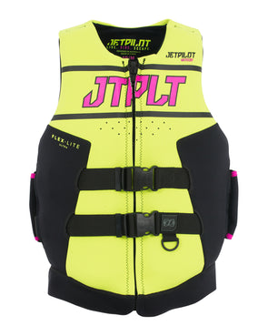 JETPILOT RX LADIES F/E NEO L50 AUS STD CAUSE VEST YELLOW L50