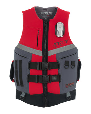 JETPILOT VENTURE MENS FE NEO VEST RED LEVEL 50