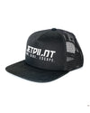 JETPILOT MENS TRUCKER CAP BLACK