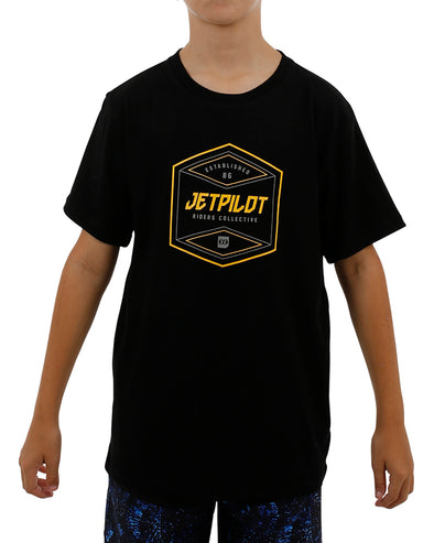 JETPILOT BIG HIT YOUTH TEE BLACK