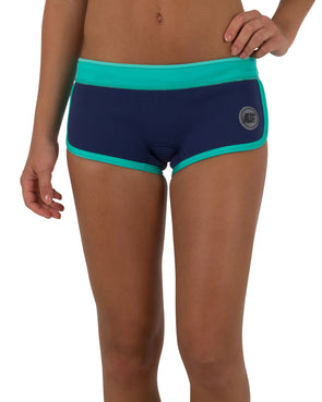 "JETPILOT JPCO 2.5"" LADIES NEO SHORT BLUE/TEAL"