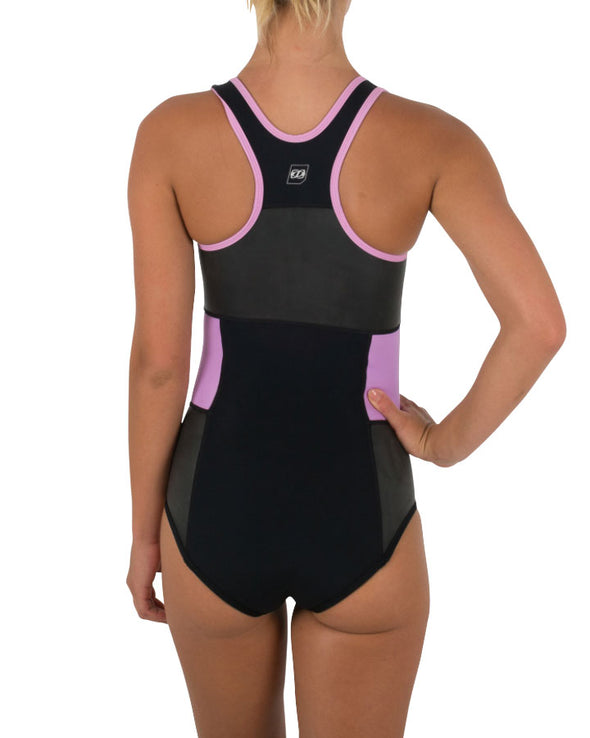 JETPILOT SUPREME LADIES NEO SWIMSUIT BLACK/PINK