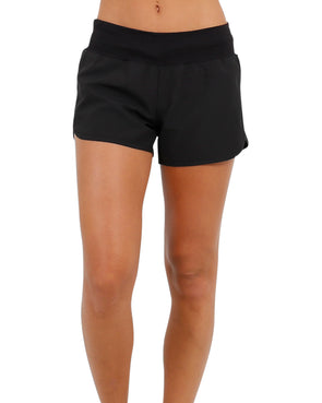 JETPILOT STAPLE LADIES BOARDSHORT BLACK