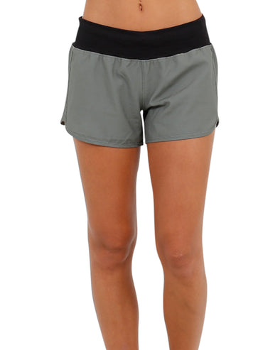 JETPILOT STAPLE LADIES RIDESHORT GREEN
