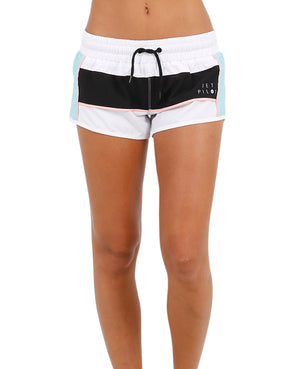 JETPILOT PRO SERIES LADIES RIDESHORT WHITE