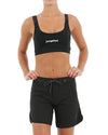 "JETPILOT CORP 7"" LADIES RIDESHORT BLACK"