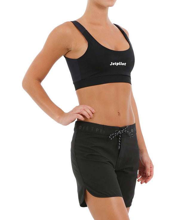 JETPILOT CORP 7'' LADIES RIDESHORT BLACK