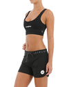 "JETPILOT CORP 5"" LADIES RIDESHORT BLACK"