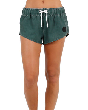 JETPILOT METAL BABY LADIES BOARKSHORT GREEN