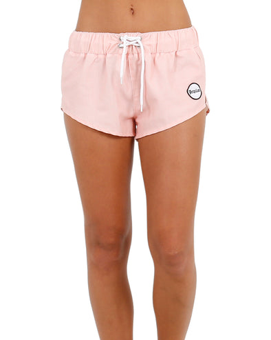 JETPILOT METAL BABY LADIES BOARKSHORT PEACH
