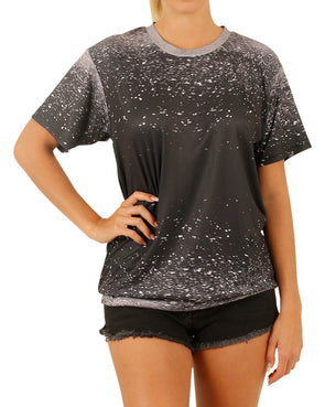 JETPILOT X1 LADIES HYDRO TEE BLACK
