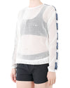 JETPILOT KICK ON LAYER LADIES TOP WHITE
