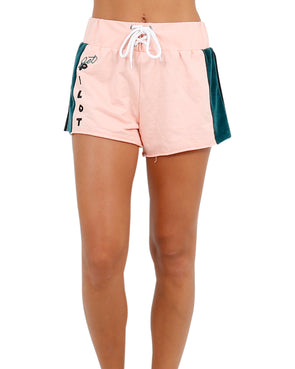 JETPILOT THROWBACK BEACH LADIES SHORT PEACH
