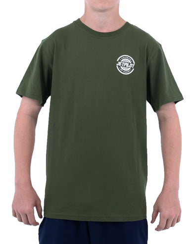 JETPILOT SHOWTIME YOUTH TEE GREEN