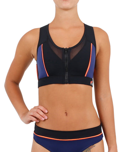 JETPILOT PRO SERIES LADIES NEO CROP TOP MULTI