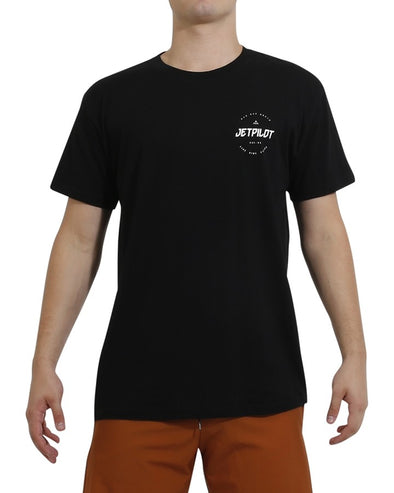 JETPILOT FULL CIRCLE YOUTH HYDRO TEE BLACK