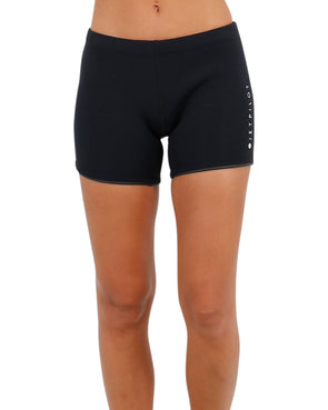 "JETPILOT LADIES ALLURE 5"" LADIES NEO SHORT BLACK"