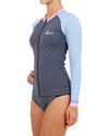 JETPILOT PRO SERIES LADIES L/S RASHIE MULTI