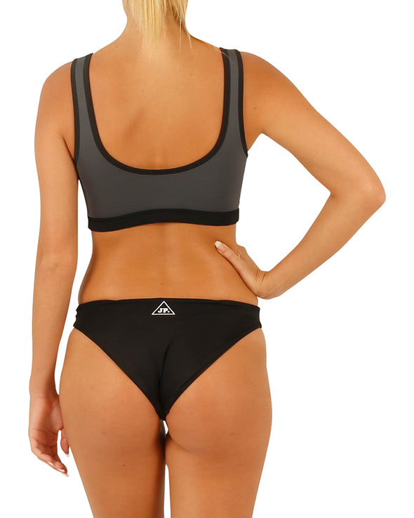JETPILOT NEW CORP LADIES NEO SWIM SET BLACK