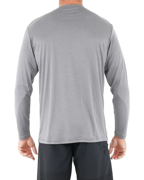 JETPILOT CORP L/S MENS HYDRO TEE ICE MARLE