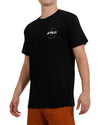 JETPILOT FULL CIRCLE S/S MENS HYDRO TEE BLACK