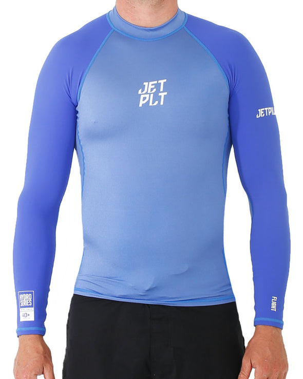 JETPILOT FLIGHT L/S RASHIE BLUE