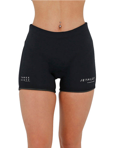 "JETPILOT FLIGHT LADIES 5"" NEO SHORT BLACK"