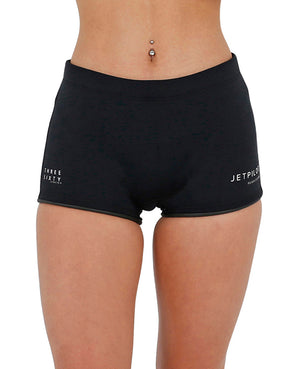 "JETPILOT FLIGHT LADIES 2.5"" NEO SHORT BLACK"