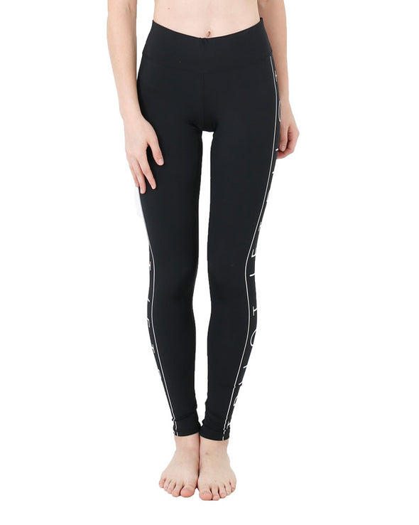 JETPILOT GOT MOVES LADIES LYCRA LEGGING BLACK