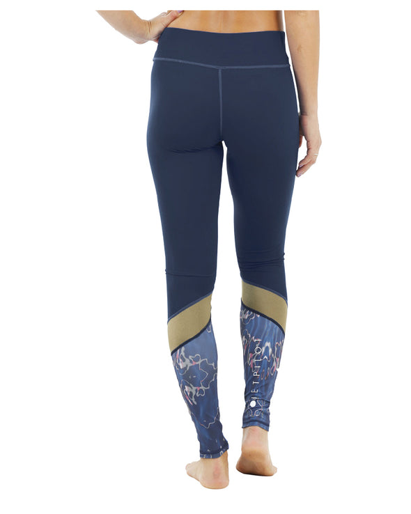JETPILOT BEC ASCENT LADIES LEGGINGS NAVY