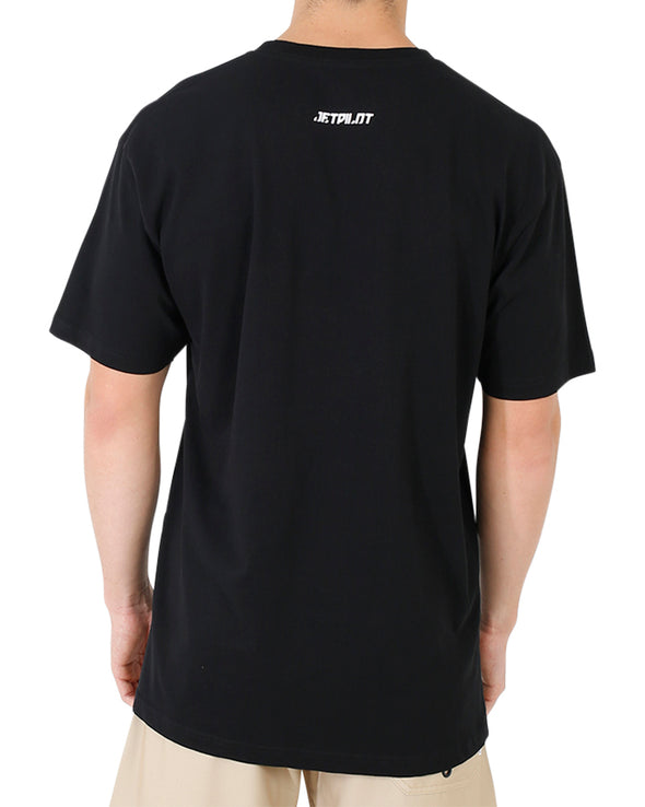 JETPILOT NAKED FLAME MENS TEE BLACK