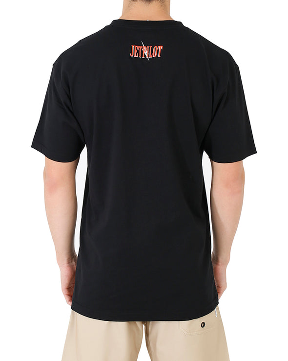 JETPILOT SCORPION MENS TEE BLACK