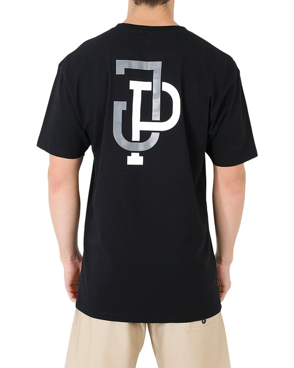 JETPILOT LINKUP MENS TEE BLACK