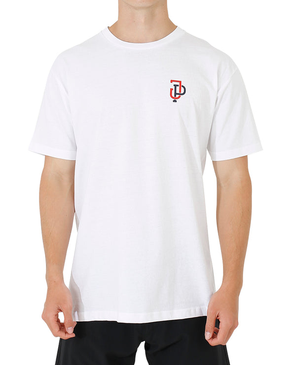 JETPILOT LINKUP MENS TEE WHITE