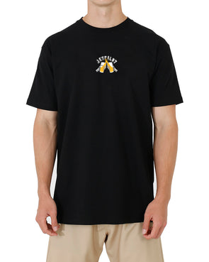JETPILOT SAVE WATER MENS TEE BLACK