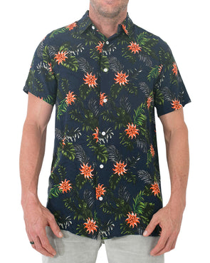 JETPILOT PARTY MENS SHIRT NAVY