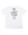 JETPILOT ROSE PISTON MENS TEE WHITE