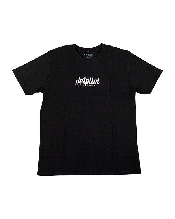 JETPILOT SUPPLY MENS TEE BLACK