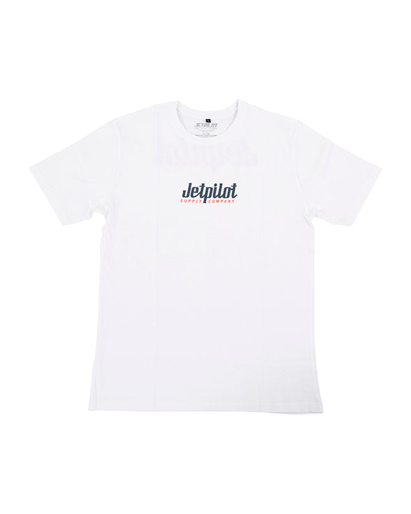 JETPILOT SUPPLY MENS TEE WHITE