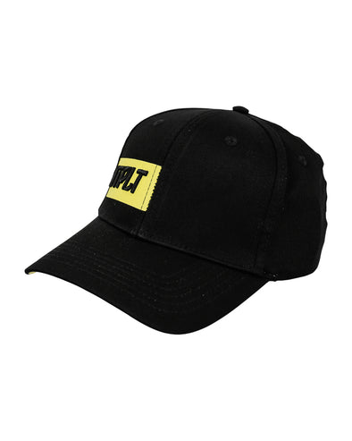 JETPILOT RX MENS CAP BLACK/YELLOW