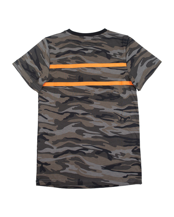 JETPILOT TAPED UP YOUTH TEE CAMO