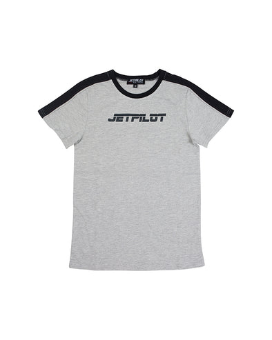 JETPILOT PAST YOUTH TEE GREY