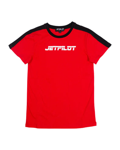 JETPILOT PAST YOUTH TEE RED