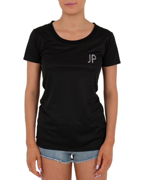 JETPILOT ACTIVE LADIES HYDRO TEE BLACK