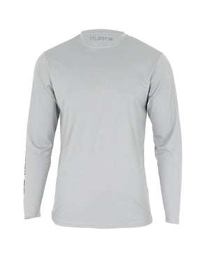 JETPILOT MENS CORP L/S HYDRO TEE ICE MARLE