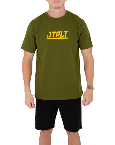 JETPILOT DIRECTION MENS TEE GREEN